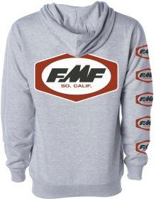 FMF Dash Zip Sweatshirt Heather Grey
