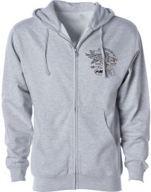 FMF Bellwhether Zip Sweatshirt Grey Heather