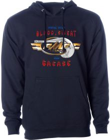 FMF Blood Sweat Grease Sweatshirt Navy
