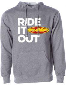 FMF Ride it Out Sweatshirt Gunmetal Heather