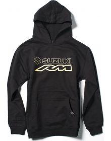 Factory FX Suzuki RM Youth Pullover Sweatshirt Black