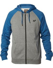 Fox Racing Legacy Zip Sweatshirt Dust Blue