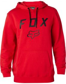 Fox Racing Legacy Moth Pullover Sweatshirt Dark Red