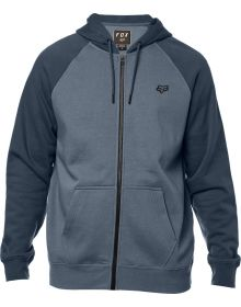 Fox Racing Legacy Zip-Up Sweatshirt Blue Steel