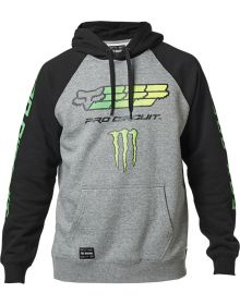 Fox Racing Monster/Pro Circuit PO Sweatshirt Heather Graphite