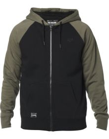 Fox Racing Rebound Legacy Sherpa Zip Sweatshirt Olive Green