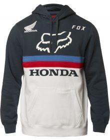 Fox Racing Honda Pullover Sweatshirt Navy/White