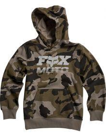 Fox Racing Charger Youth Pullover Sweatshirt Camo