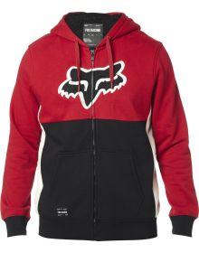 Fox Racing Rebound Sherpa Zip Sweatshirt Red/Black