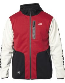 Fox Racing Barricade Zip Soft Shell Sweatshirt Black/Red