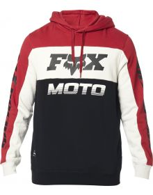 Fox Racing Charger Pullover Sweatshirt Black/Red