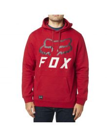 Fox Racing Heritage Forger Pullover Sweatshirt Cardinal