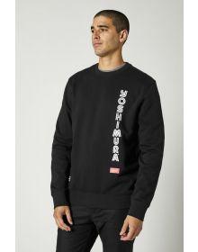 Fox Racing Yoshimura Crew Sweatshirt Black
