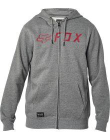 Fox Racing Apex Zip Sweatshirt Heather Graphite