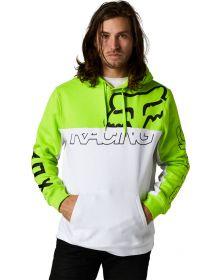 Fox Racing Skew Pullover Sweatshirt Flo Yellow