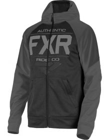 FXR Ride Tech Youth Pullover Sweatshirt Black Ops