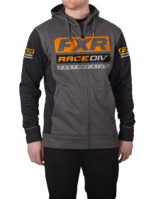 FXR Race Division Tech Sweatshirt Charcoal/Orange