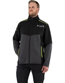FXR Altitude Tech Zip-Up Jacket Charcoal/Hi-Vis