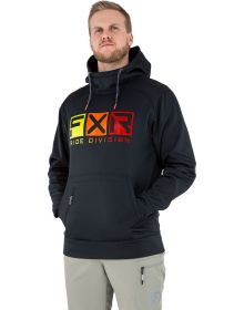 FXR Helium Tech Pullover Hoodie Sweatshirt Black/Inferno