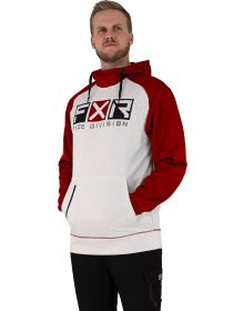 FXR Helium Tech Pullover Hoodie Sweatshirt Bone/Rust