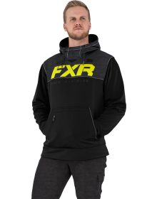 FXR Pursuit Tech Pullover Hoodie Sweatshirt Black/Hi-Vis
