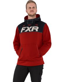 FXR Pursuit Tech Pullover Hoodie Sweatshirt Rust/Black