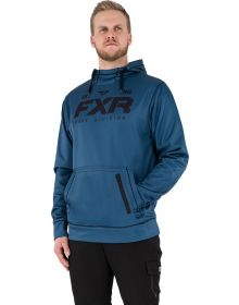 FXR Pursuit Tech Pullover Hoodie Sweatshirt Slate/Black