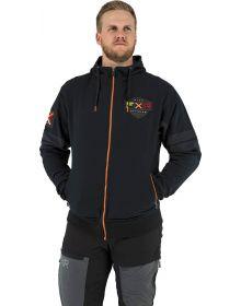 FXR Ride Zip-Up Hoodie Sweatshirt Black/Inferno