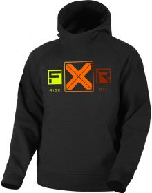 FXR Maverick Tech Pullover Hoodie Youth Sweatshirt Black/Elec. Pink