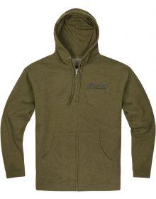 Icon Clasicon Zip Sweatshirt Green