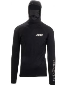 509 FZN Merino Sweatshirt with Balaclava Hood Black