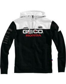 100% Geico Honda Tailhooh Zip Sweatshirt Black/White