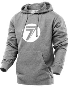 Seven Dot Sweatshirt Gray/White