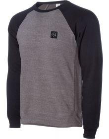 Seven Benchmark Crew Sweatshirt Nickle/Black