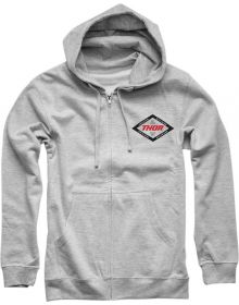Thor Namesake Zip-Up Sweatshirt Heather Gray