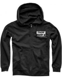 Thor Star Racing Chevron Zip-up Sweatshirt Black