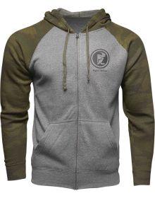 Thor Target Zip-Up Sweatshirt Camo