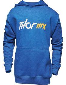 Thor MX Youth Pullover Sweatshirt Royal