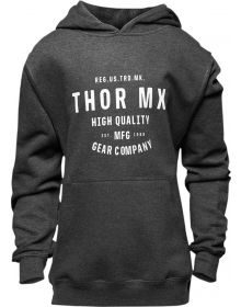 Thor Crafted Youth Girls Pullover Sweatshirt Charcoal