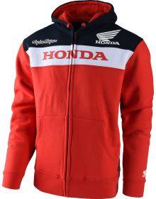 Troy Lee Designs 2017 Honda Zip Up Sweatshirt Red