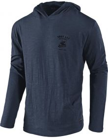 Troy Lee Designs World Pullover Sweatshirt Indigo