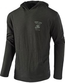 Troy Lee Designs World Pullover Sweatshirt Charcoal