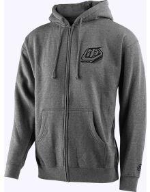 Troy Lee Designs TLD Mix Zip-Up Sweatshirt Gunmetal Heather
