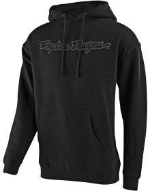 Troy Lee Designs Signature Pullover Sweatshirt Black