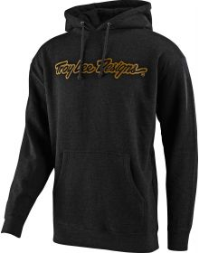 Troy Lee Designs Signature Pullover Sweatshirt Charcoal