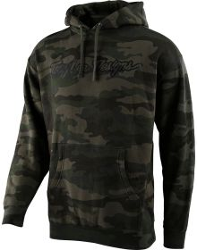 Troy Lee Designs Signature Pullover Sweatshirt Forest Camo