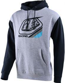 Troy Lee Designs Precision 2.0 Pullover Sweatshirt Gray Heather