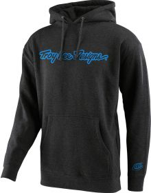 Troy Lee Designs Signature Youth Pullover Sweatshirt Charcoal
