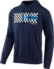 Troy Lee Designs Yamaha Checkers Pullover Sweatshirt Navy