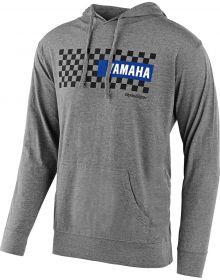 Troy Lee Designs Yamaha Checkers Pullover Sweatshirt Gunmetal Heather